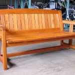 TERRA (テラ)チーク材の高級ガーデンベンチ