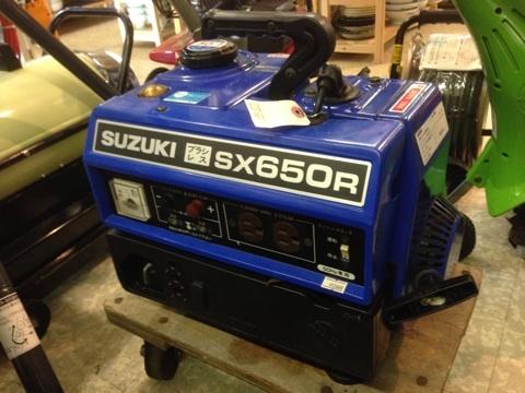 SUZUKIエンジン発電機
