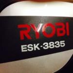 リョービのエンジンチェンソーESK-3835入荷