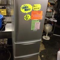 パナソニック3ドア冷蔵庫