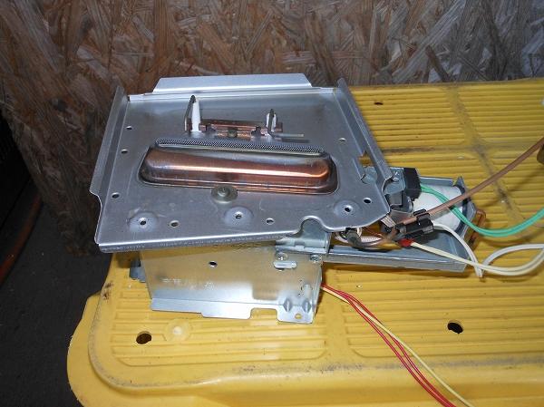 ファンヒーターの整備