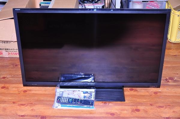 LED AQUOSLC-40H9 2014年製の薄型テレビ買取ました!