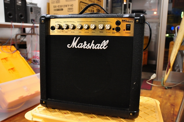 マーシャルギターアンプ