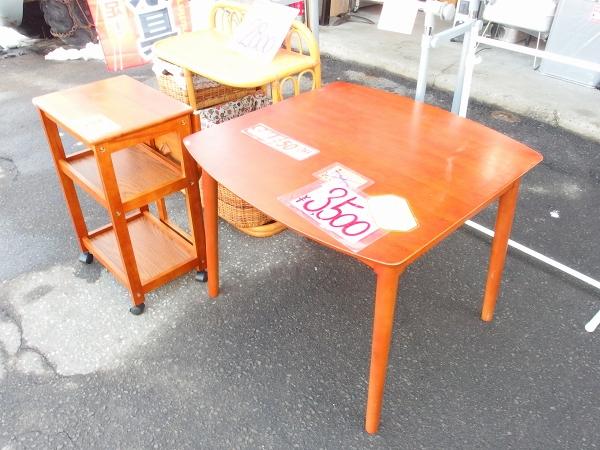 テーブル半額