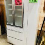 白い食器棚入荷 キッチンボード