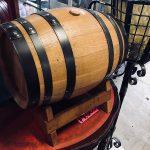 ワインの樽入荷