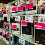 各種ストーブ、暖房器具、販売開始しました。買取もおまちしております!