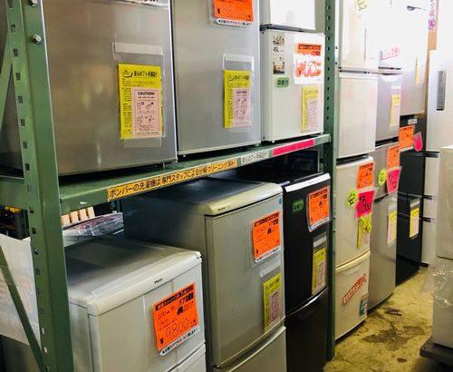 中古冷蔵庫、大量販売中です