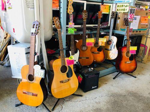 安いギター販売中