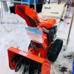 中古除雪機!クボタ6馬力除雪機が3万円!