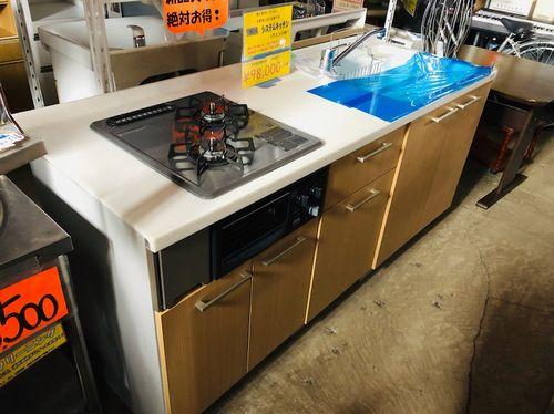 ヤマハのシステムキッチン販売中!中古品で価格は税別98,000円