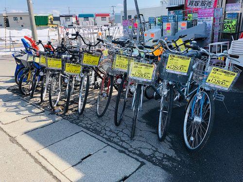 自転車販売中