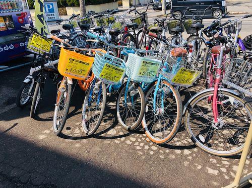 自転車入荷
