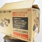 マキタの充電式ポータブルバンドソー PB181DRGX買取ました。新品です。